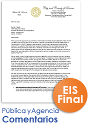 The I-70 East Final EIS (FEIS) Comentarios (thumbnail of comentarios)