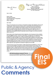 The I-70 East Final EIS (FEIS) Comments (thumbnail of comments)