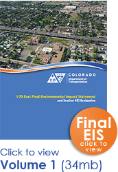 The I-70 East FEIS Document: Volume 1 (thumbnail of cover)