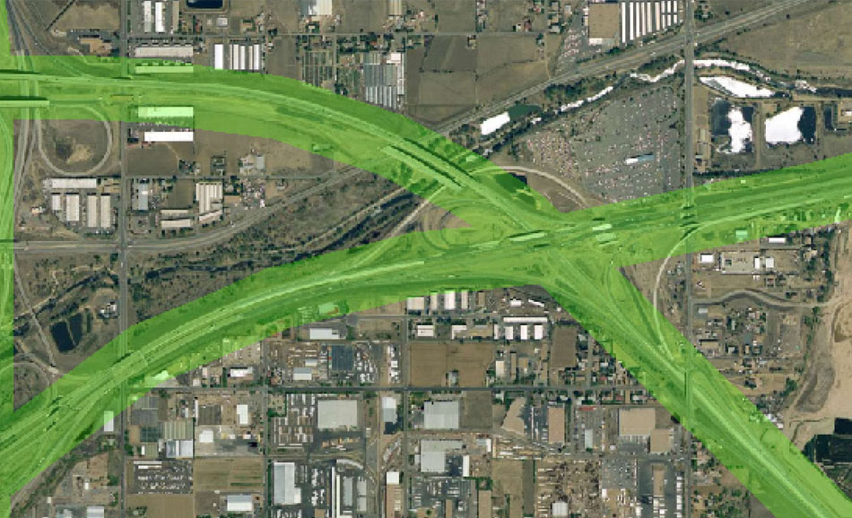 I-70 East Environmental Impact Statement (EIS) Project Map Zoom #2