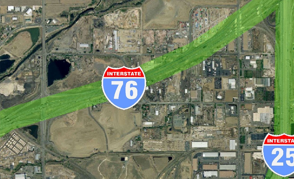 I-70 East Environmental Impact Statement (EIS) Project Map Zoom #11