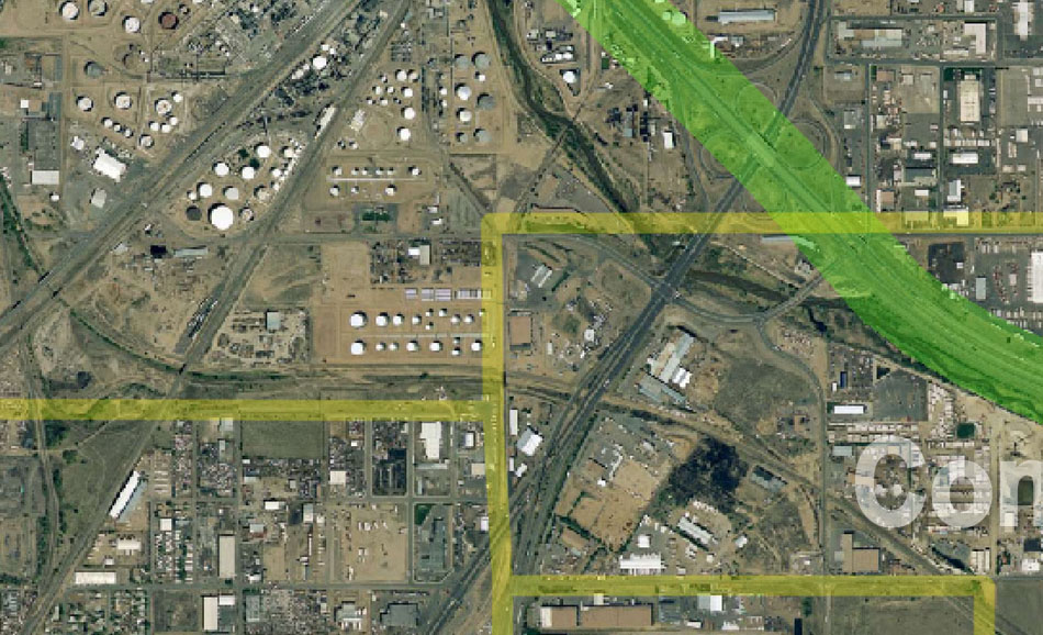 I-70 East Environmental Impact Statement (EIS) Project Map Zoom #23