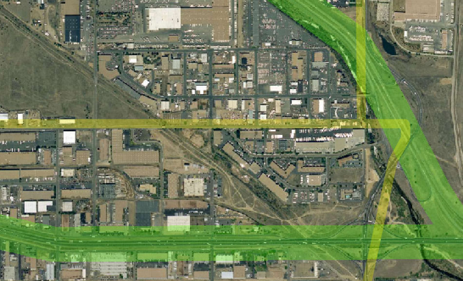 I-70 East Environmental Impact Statement (EIS) Project Map Zoom #34