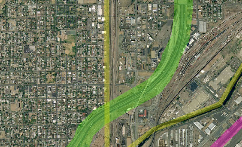 I-70 East Environmental Impact Statement (EIS) Project Map Zoom #41