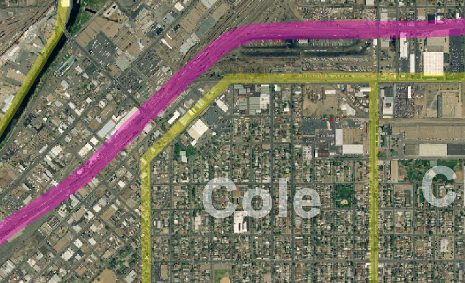 I-70 East Environmental Impact Statement (EIS) Project Map Zoom #42