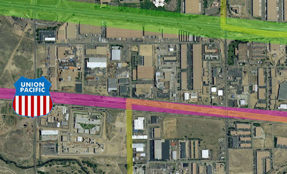 I-70 East Environmental Impact Statement (EIS) Project Map Zoom #46