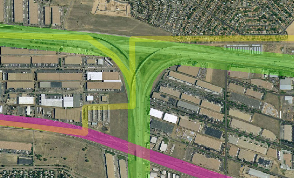 I-70 East Environmental Impact Statement (EIS) Project Map Zoom #47