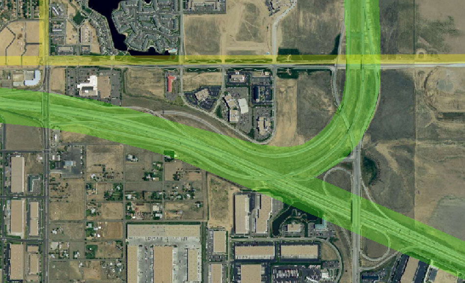 I-70 East Environmental Impact Statement (EIS) Project Map Zoom #48