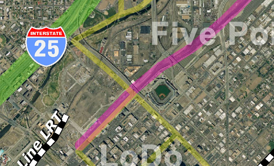 I-70 East Environmental Impact Statement (EIS) Project Map Zoom #51
