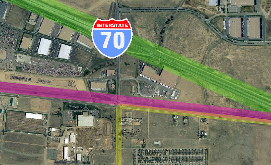 I-70 East Environmental Impact Statement (EIS) Project Map Zoom #59