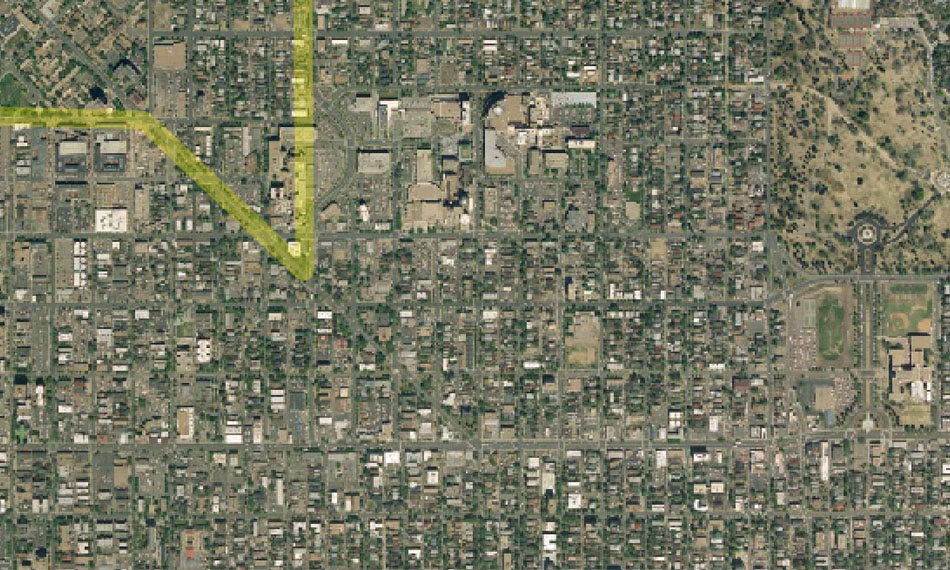 I-70 East Environmental Impact Statement (EIS) Project Map Zoom #62
