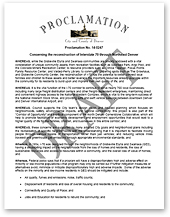Letter of Support from the Council of the City and County of Denver (thumbnail of letter)