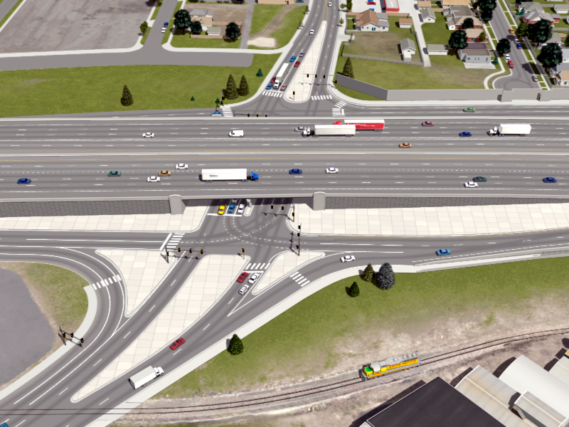 Brighton Boulevard Interchange