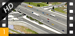 Flyover Animation of the I-70/Brighton Boulevard Interchange Underpass - I-70 East EIS Flyover Animation [HD]
